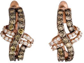 Le Vian 14K Diamond Earrings $1,095 thestylecure.com