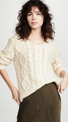 Roche Ryan Cable Knit Sweater