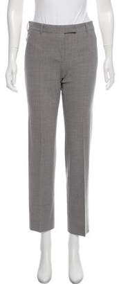 Helmut Lang Wool Straight-Leg Pants