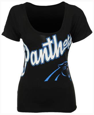 '47 Brand Women's Carolina Panthers Roundoff T-Shirt $34 thestylecure.com