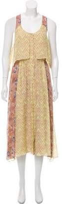 Rebecca Taylor Silk Asymmetrical Dress
