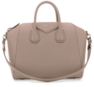 Givenchy Antigona Medium Leather Satchel Bag $2,435 thestylecure.com