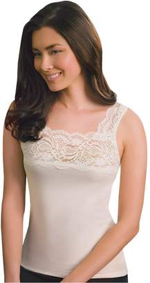 Cuddl Duds SofTech Lace-Trim Tank