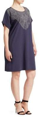 Nic+Zoe Plus Nights in Mojave Shift T-Shirt Dress