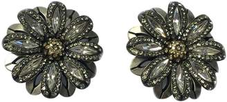 Lanvin Silver Metal Earrings