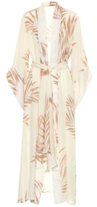 Johanna Ortiz Buena Vista silk georgette kimono