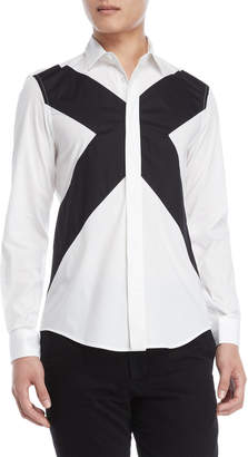 Bikkembergs X Front Long Sleeve Shirt