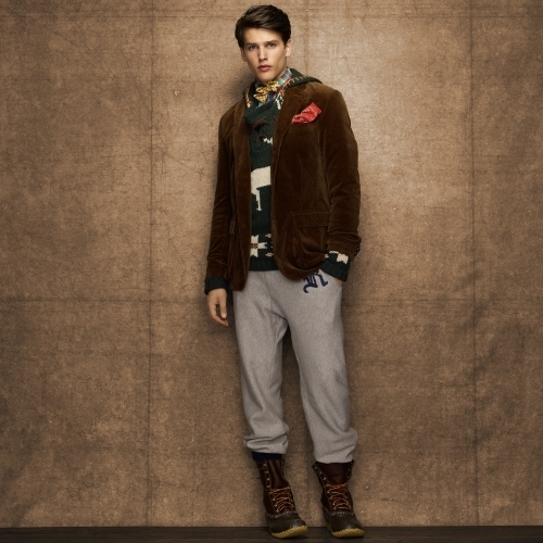 Rugby Belted Corduroy Jacket