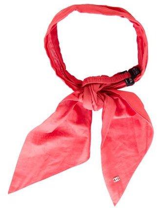 ChanelChanel Scarf Tie Headband