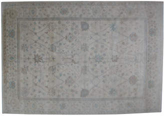 "One Kings Lane Vintage Oushak-Style Carpet - 8'10"" x 12'9"" - R. Banilivi and Son"
