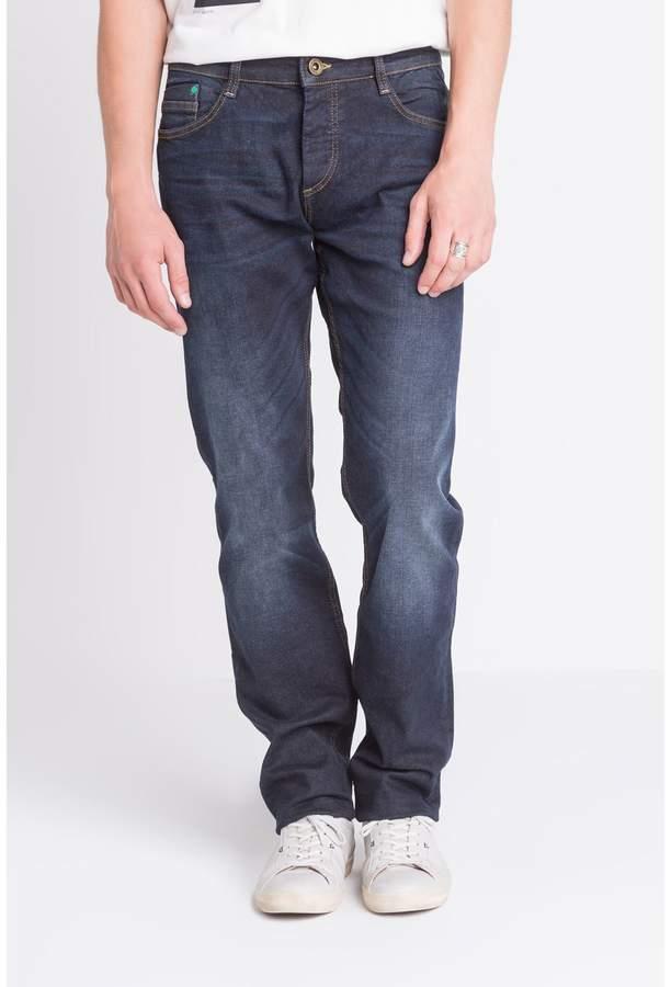 Jeans mit Slimcut - jeansblau