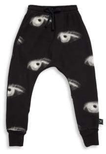 Nununu Toddler's & Little Boy's Eye Cotton Baggy Pants