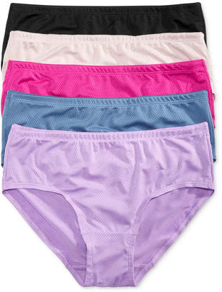Fruit of the Loom 5-Pk. Low-Rise Mesh Brief 5DPBLB1 $28 thestylecure.com