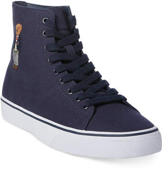 Polo Ralph Lauren Men's Solomon High-Top Sneakers Men's Shoes