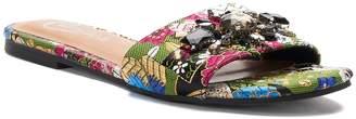 Candies Candie's Rutabaga Women's Tapestry Slide Sandals