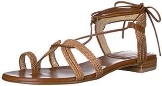 Stuart Weitzman Women's Looping Flat Sandal