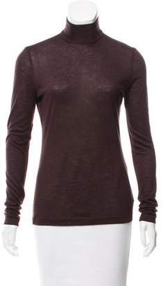 Akris Silk-Cashmere Turtleneck Sweater