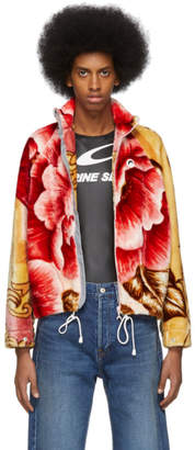 Marine Serre Multicolor Fleece Jacket