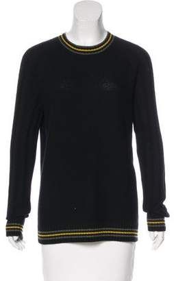 Jason Wu Striped Cashmere Sweater