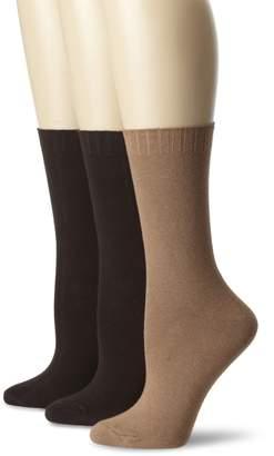 Hue Women's 3 Pair Pack Loafer Socks