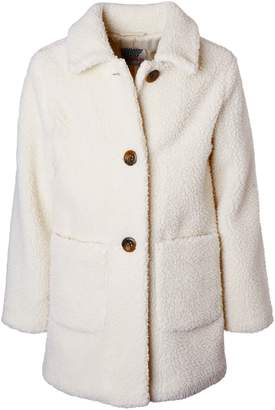 KensieGirl Teddy Long Jacket