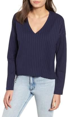 BP Wide Rib Crop Sweater