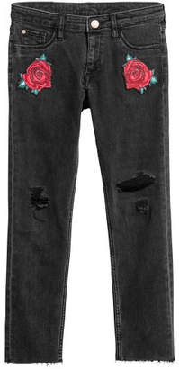 H&M Superstretch Skinny Fit Jeans - Black