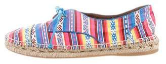 Tabitha Simmons Aztec Lace-Up Espadrilles