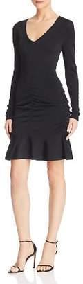 Parker Carla Ruched Stretch-Knit Dress