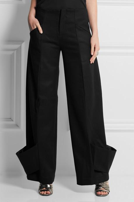 J.W.Anderson Woven-wool wide-leg pants