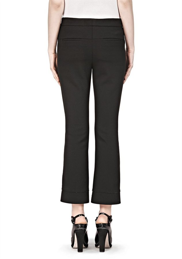 Alexander Wang Straight Fit Tailored Trouser