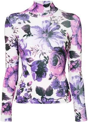Richard Quinn floral print jersey