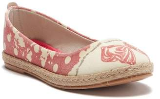 Goby Rose Printed Ballet Flat