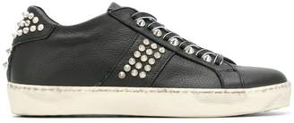 Leather Crown Wiconic stud sneakers