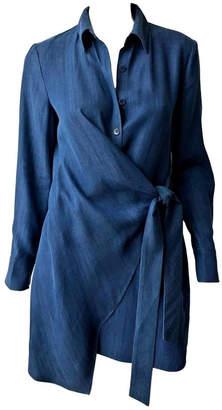 Tibi Drape Tunic Dress