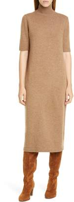 Lafayette 148 New York Wool & Cashmere Midi Sweater Dress