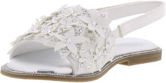 Kenneth Cole Reaction Reaction Kenneth Cole Brie Crystal Flower Slingback Sandal
