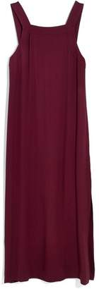 Madewell Apron Tie Back Dress