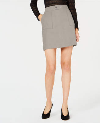 INC International Concepts I.N.C. Petite Faux-Suede Mini Skirt, Created for Macy's