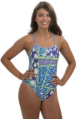 Dolfin Uglies Wild Thing Double-Strap Back One-Piece Swimsuit
