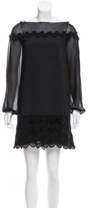 Philosophy di Alberta Ferretti Guipure Lace Mini Dress w/ Tags