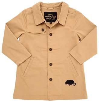 Mini Rodini Organic Cotton Gabardine Trench Coat