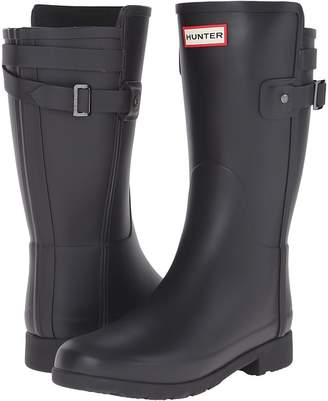 Hunter Short Refined Back Strap Rain Boots Women's Rain Boots