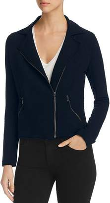 Majestic Filatures Knit Moto Jacket