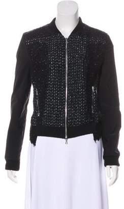 Nina Ricci Mohair-Blend Jacket