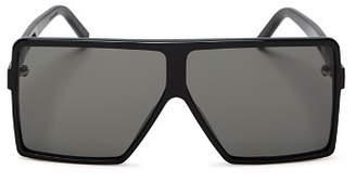 99c59ce27cb Saint Laurent Women s SL 183 Betty Small Shield Sunglasses