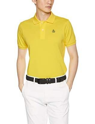 Munsingwear (マンシングウェア) - [マンシングウェア] 半袖シャツ(ニット) XSG1600AX Y909(イエロー) 日本 L (日本サイズL相当)