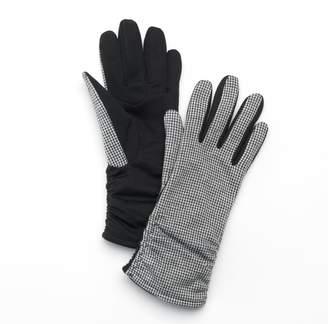 Apt. 9 Women's Mini Houndstooth Gloves