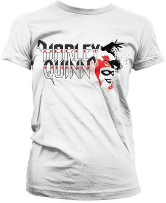 Batman T Shirt Harley Quinn new Official DC Comics Womens Skinny Fit
