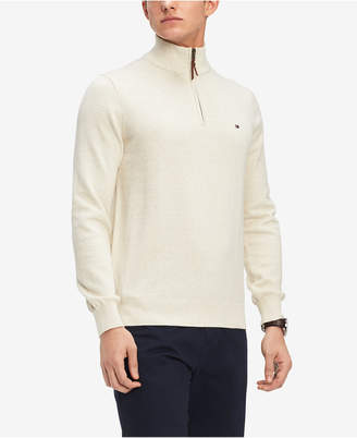 Tommy Hilfiger Men Quarter-Zip Sweater